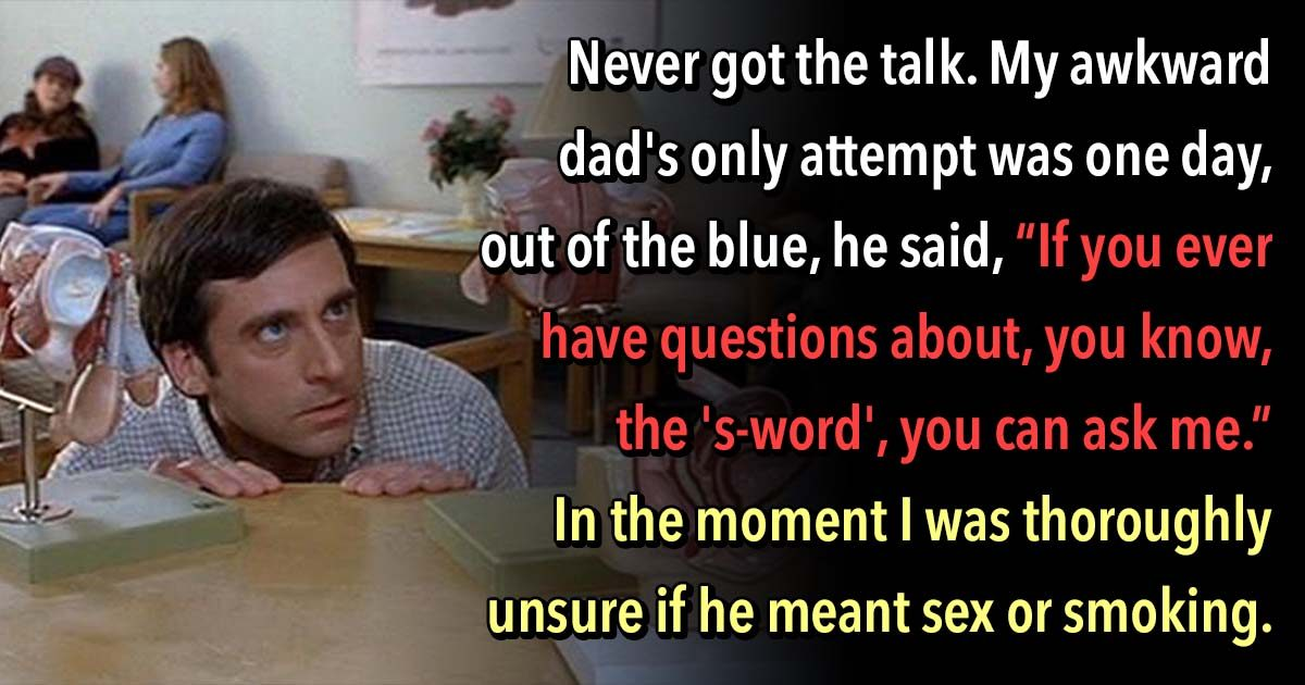 """23 Parents Gave Awful Advice about """"The Birds and the Bees"""""""