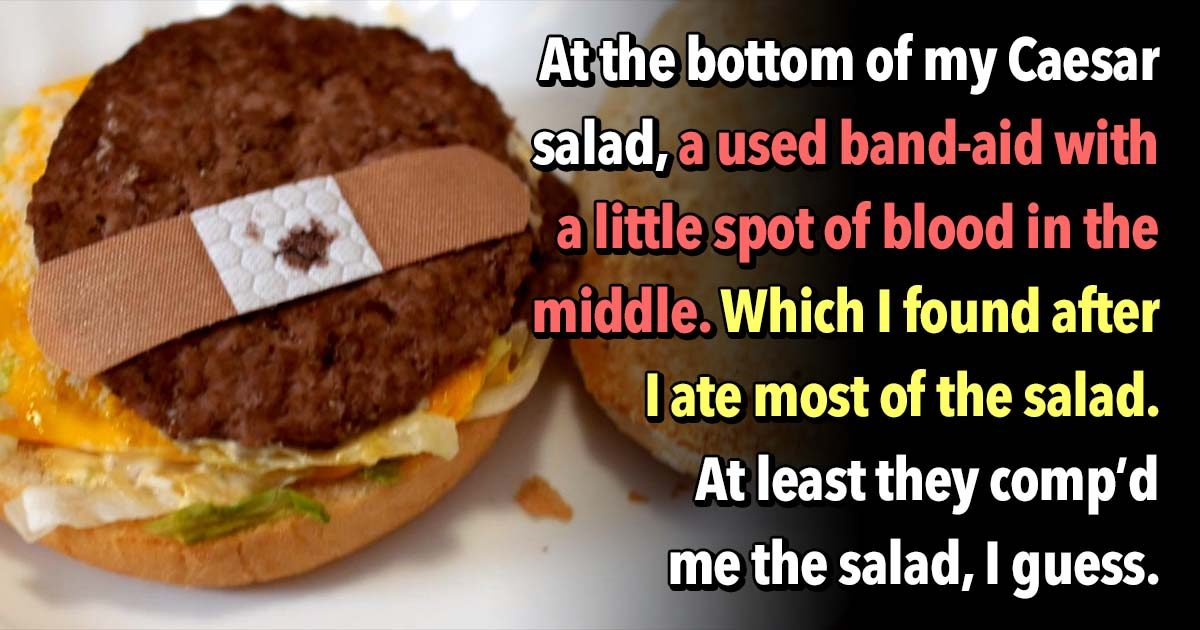 23 People Confess Their Worst Restaurant Experiences
