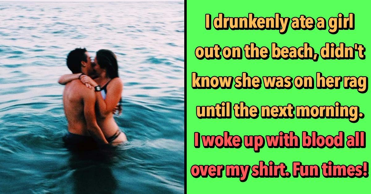 17 Men Share the Awkward AF Encounters with Lady Bits