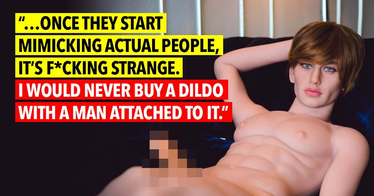 23 People Share Their Opinions On Sex Dolls