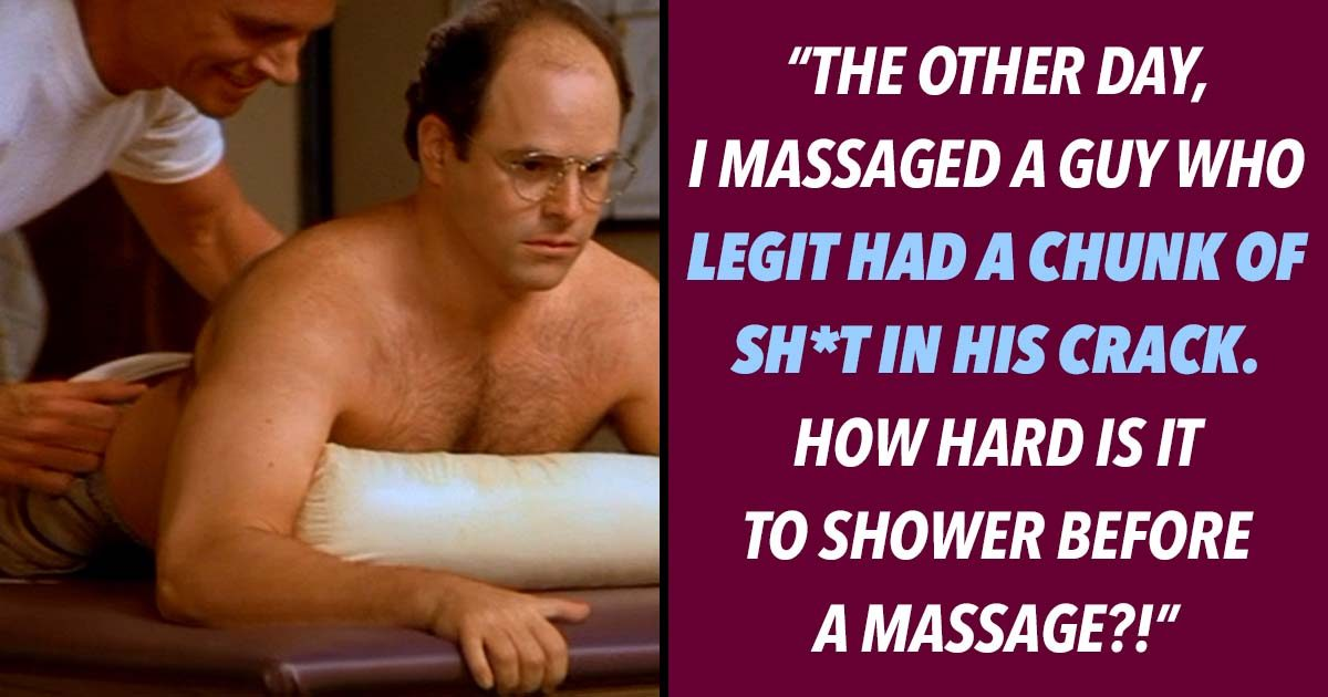 19 Massage Therapists Admit the Dirty Details of their Trade