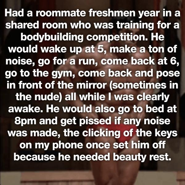 19 Roommate Horror Stories That Will Make You Want to Live ...
