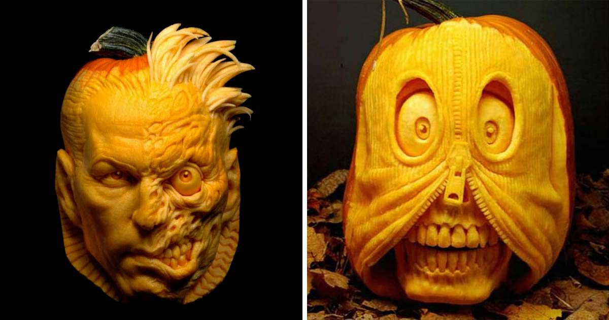 These 31 Professionally Carved Pumpkins Will Make You Jealous