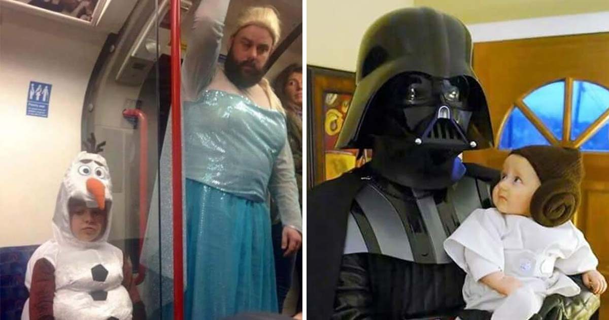 These 27 Dads Are Winning Halloween