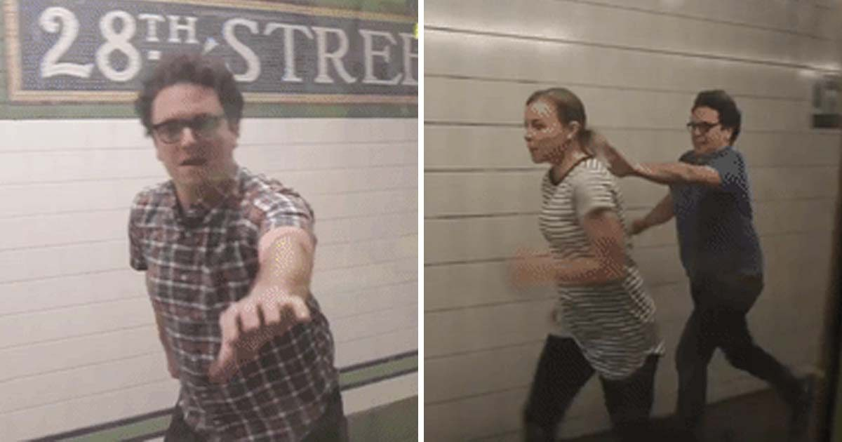This Guy Chased the Subway Every Day and the Most Unexpected Thing Happened