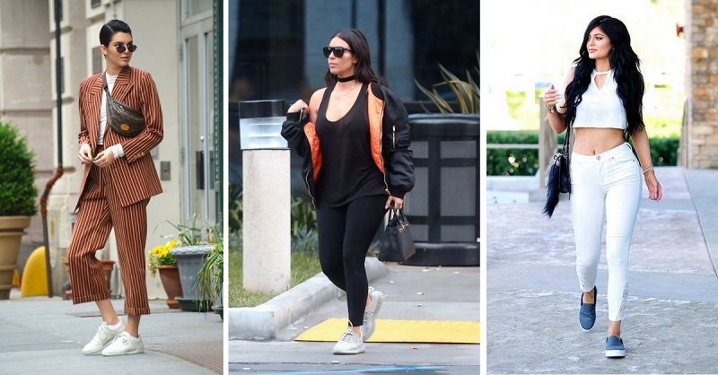 The Kardashian/Jenner's Are The Queens of Street Style