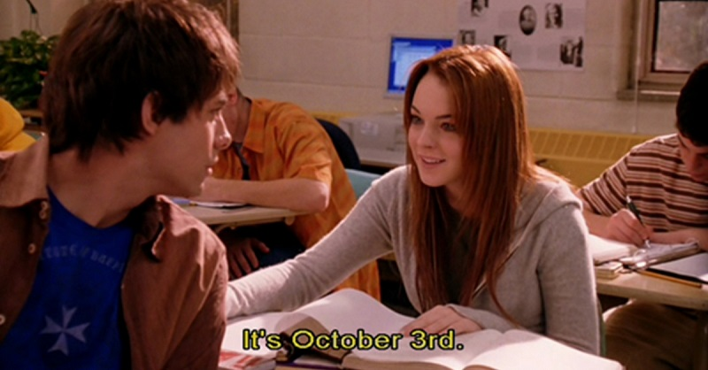 The Best Mean Girls Gifs To Help You Celebrate October 3rd