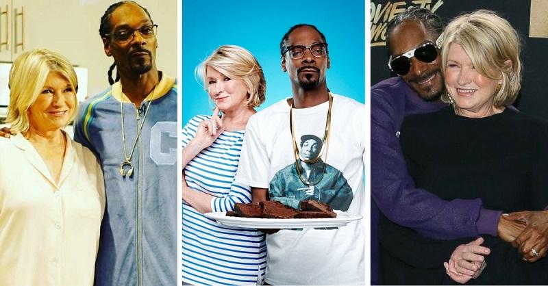 Snoop Dogg & Martha Stewart – Totally Unexpected BFFs