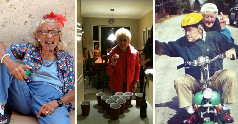 These 35 Partying Senior Citizens Are Going Out On A High Note