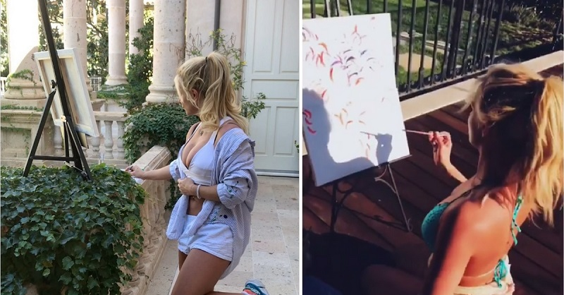 Britney Spears is Now a 'Professional' Painter and Her Art is Plain Embarrassing