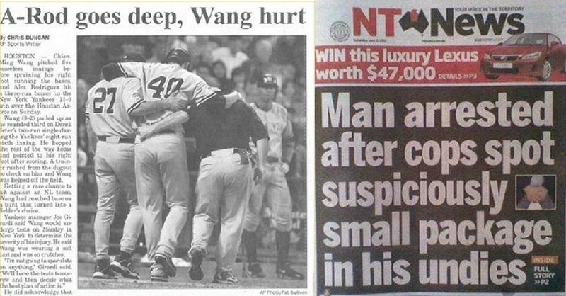 Hilarious Newspaper Headline Fails