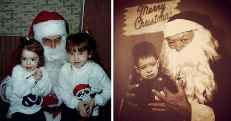The Worst Santa's Lap Photos to Ruin Your Christmas