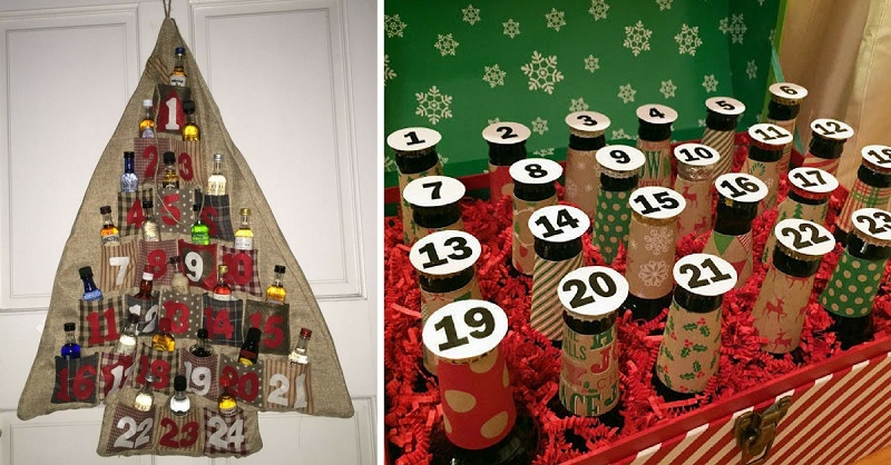 The Only Advent Calendar You Need is Full of Alcohol
