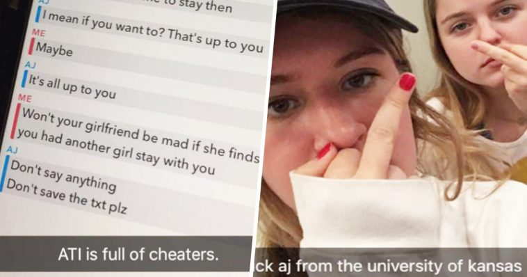 This College Snapchat Just Blasted The Cheating Drama Of The Year