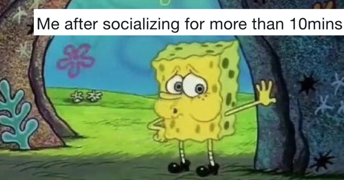 'Tired SpongeBob' Is The Meme For Everyone Who Hates Human Interaction