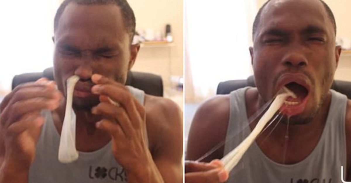Forget Tide Pods, People Are Now Snorting Condoms In Latest Viral Challenge