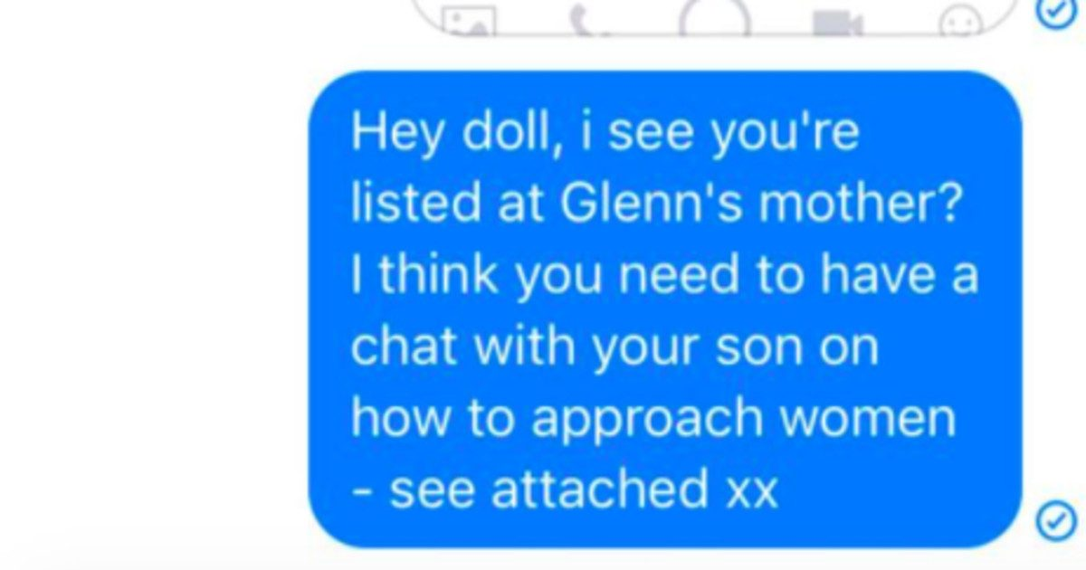 Guy Sends Girl Unsolicited Dick Pic, So Girl Sends It To His Mom