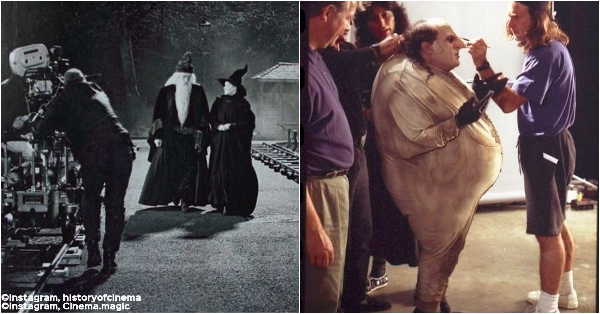 13 Behind-The-Scenes Shots From Our Favorite Movies