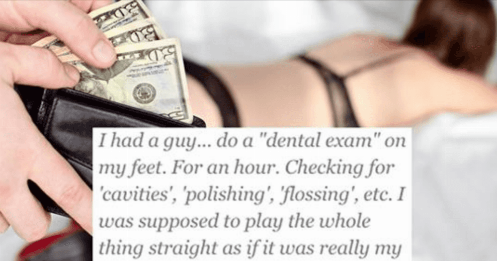 "25 Sex Workers Share The Strangest Things They've Ever Encountered ""Serving A Client"""