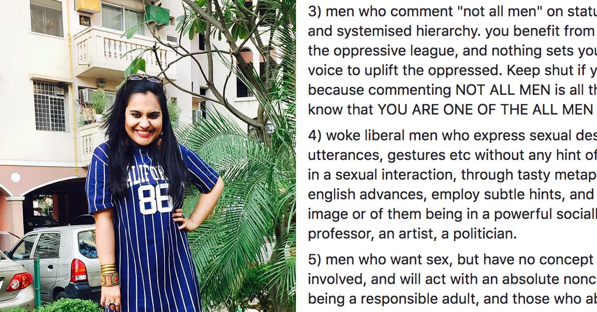 Woman's List Of 'Cringe-Worthy Men' Is Eye-Opening About The Issues Women Face With Dating