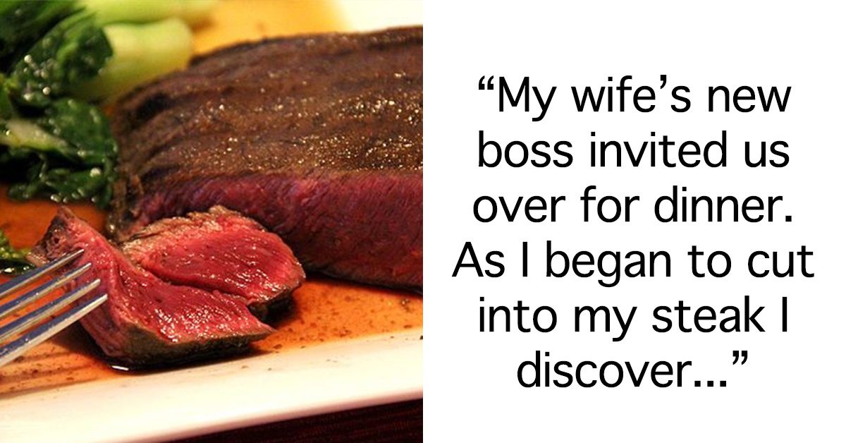 This Woman Was Invited To Her New Boss' House For Dinner And Her Husband Did The Unthinkable