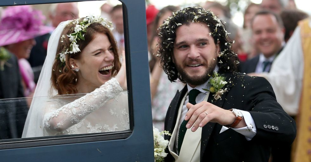 Kit Harington And Rose Leslie Tied The Knot And The Pictures Are Stunning