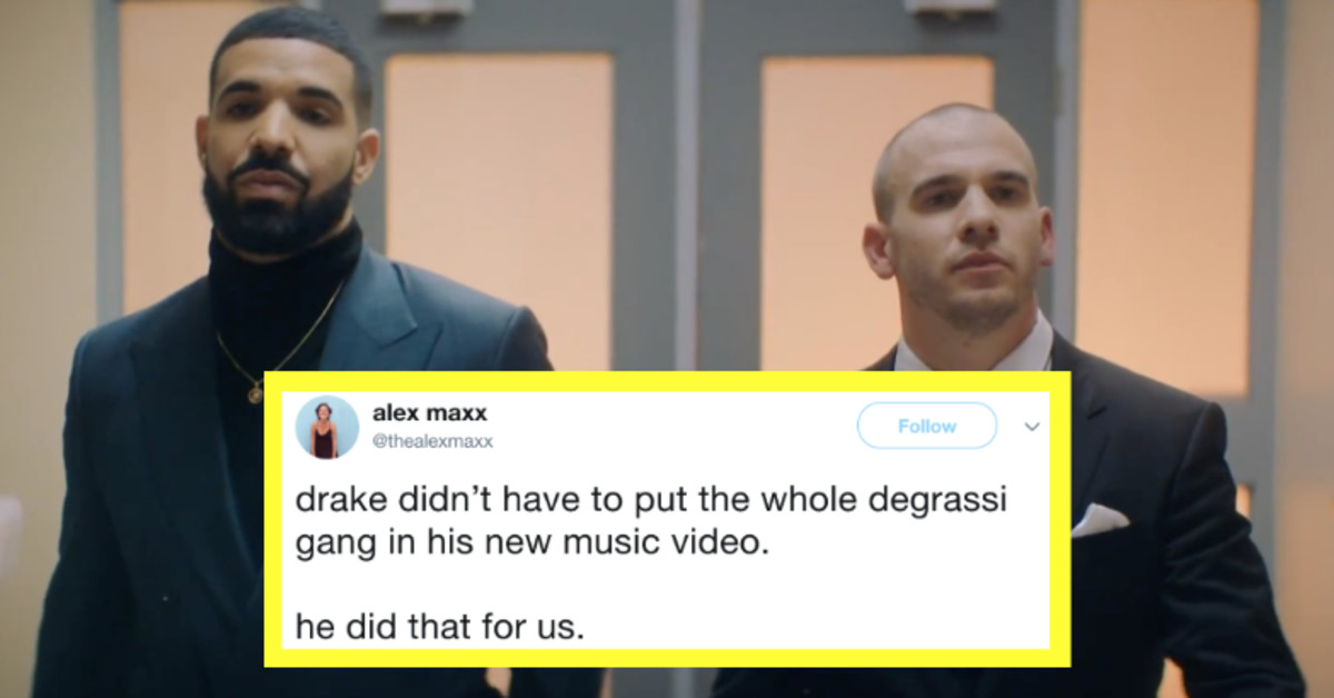 Drake Reunited The 'Degrassi' Cast For His New Music Video And Fans Are Freaking Out