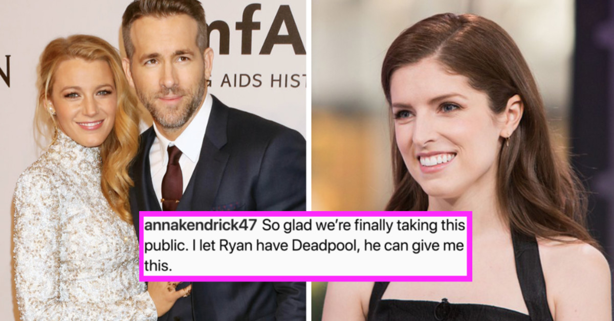 Blake Lively Trolled Ryan Reynolds By Admitting She Wants To Cheat On Him With Anna Kendrick