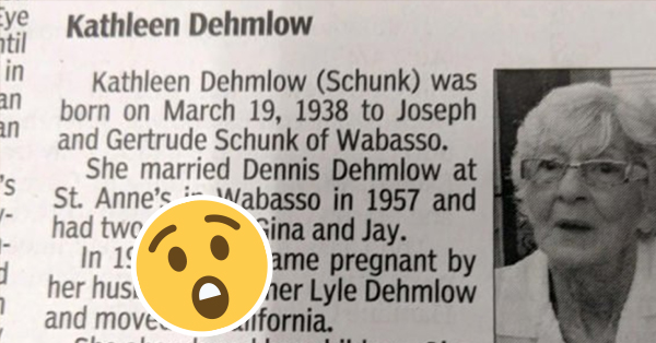 This Woman's Obituary Goes From Zero To Savage In Record Time