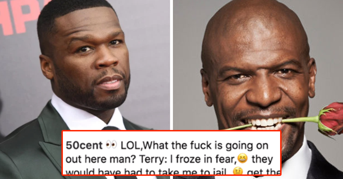 50 Cent Mocks Terry Crews For Being A Victim Of Sexual Assault