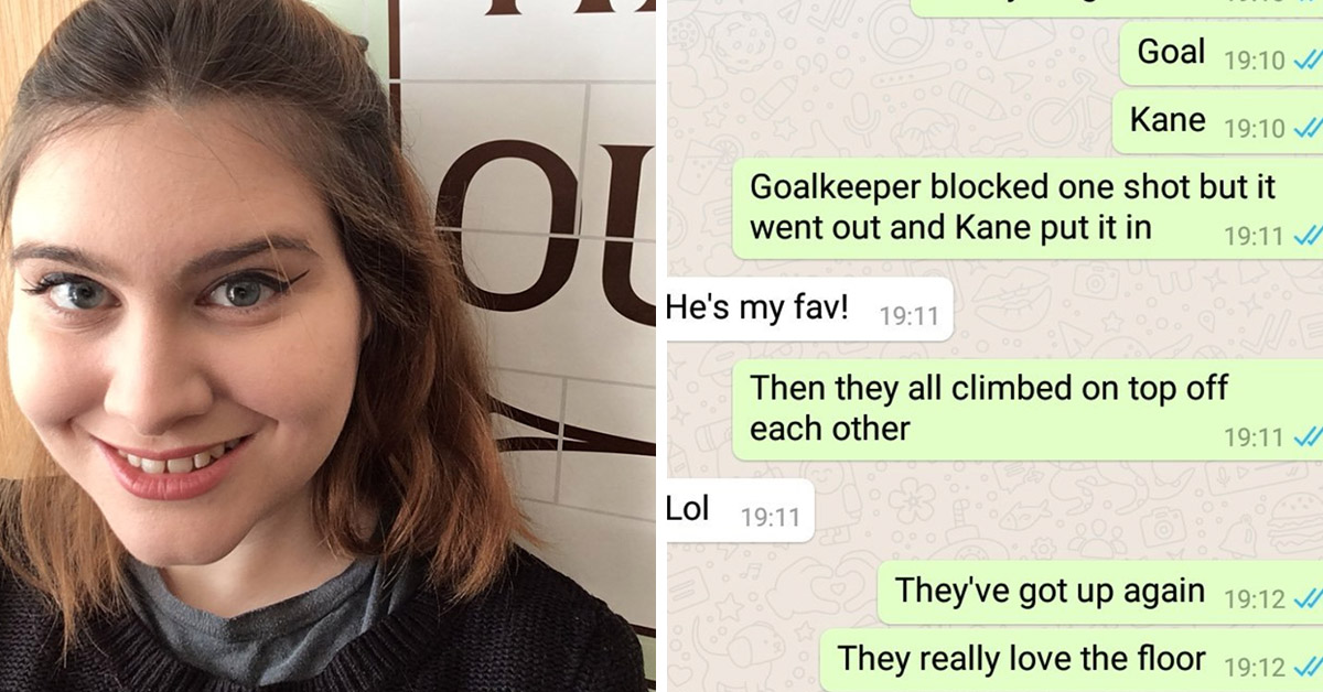This Guy Asked His Girlfriend To Text Him World Cup Updates And Her Play-By-Play Will Have You In Tears
