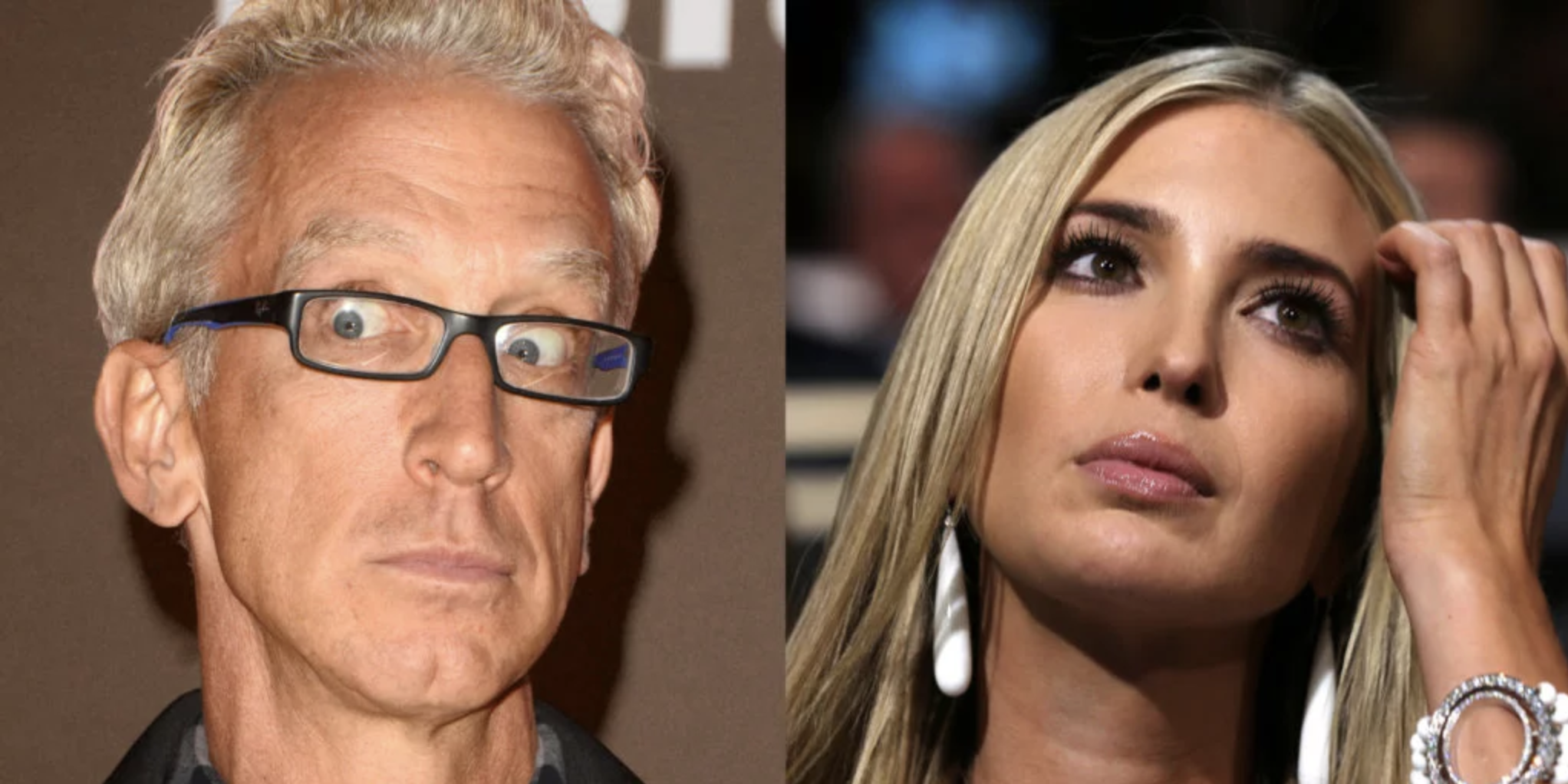 Video Shows Andy Dick Dragged Off Kimmel Stage For Groping Ivanka Trump