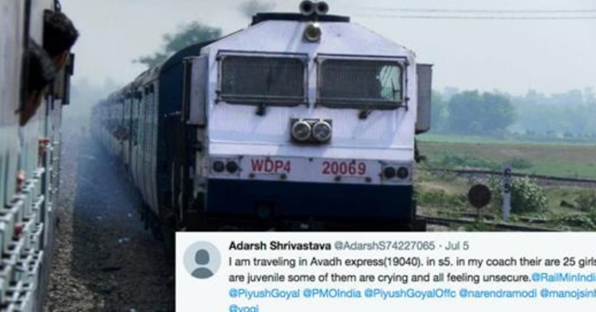 A Train Passenger's Tweet Saved 26 Girls From Human Trafficking