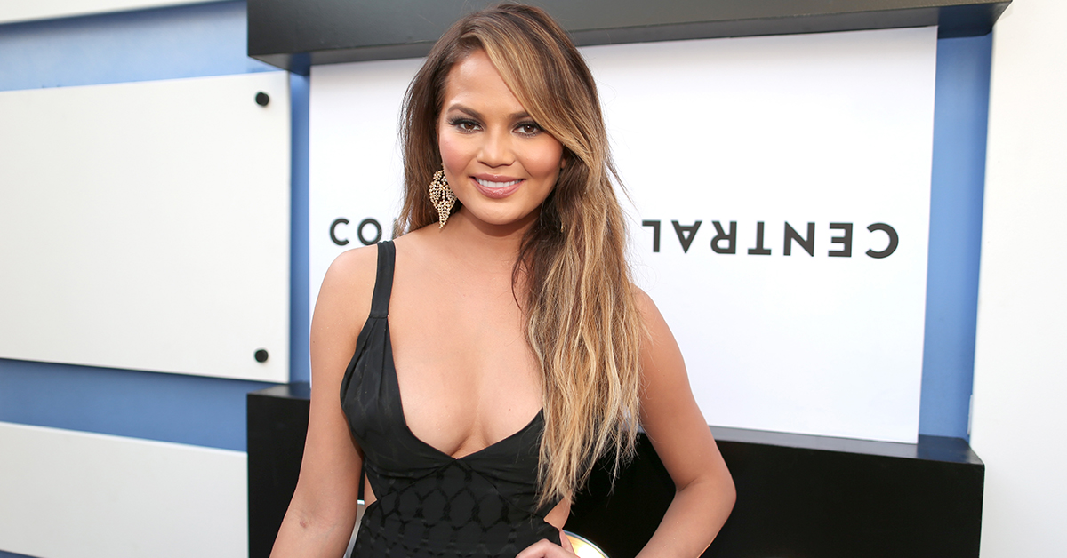 Chrissy Teigen Defends Cleavage From Body-Shaming Trolls On Twitter