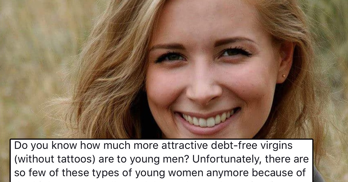 This Christian Blogger Wrote A Post Called'Men Prefer Debt-Free Virgins Without Tattoos' And The Dunks Are Solid Gold