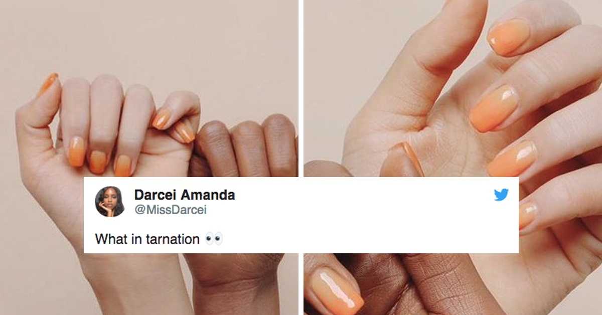 See If You Can Spot Why People Are Freaking Out About This Nail Polish Ad