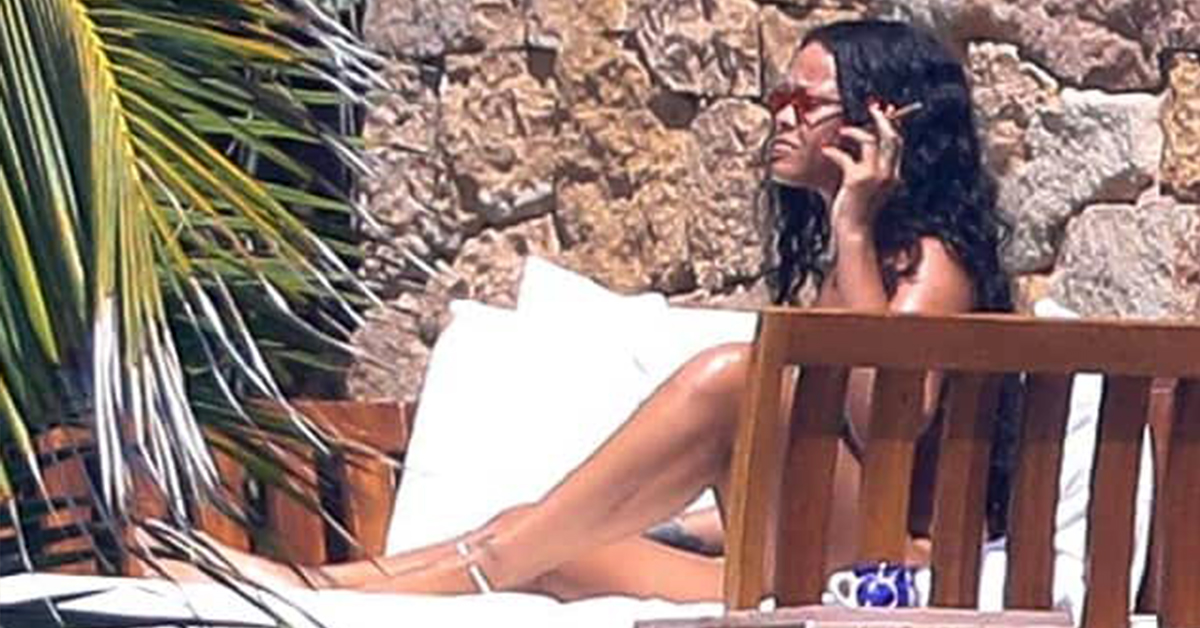 Rihanna Arguing With Her Billionaire Boyfriend While Smoking A Blunt Is The Biggest Summer Mood