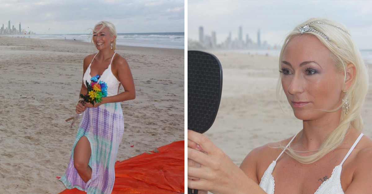 This Absolute Legend Married Herself And Used A Mirror To Recite Her Vows