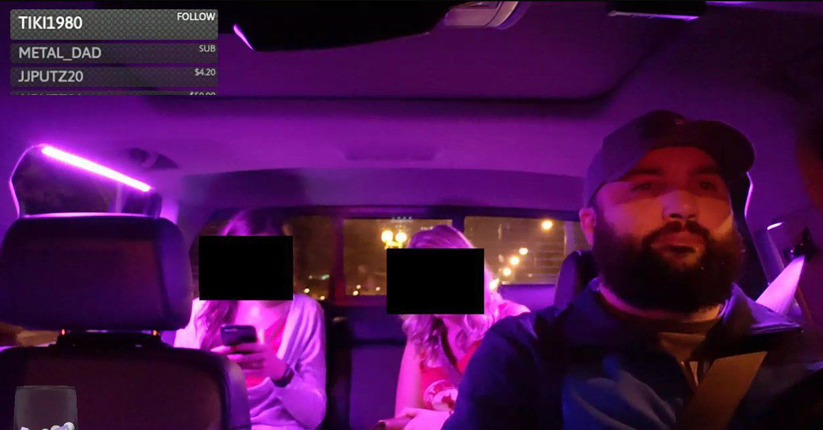 Uber Driver Fired After Secretly Filming Female Passengers So That The Internet Could 'Rate' Them