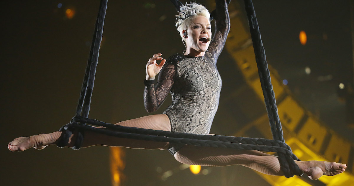 Paparazzi Have Been Criticizing Pink For Canceling Her Tour And She's Done