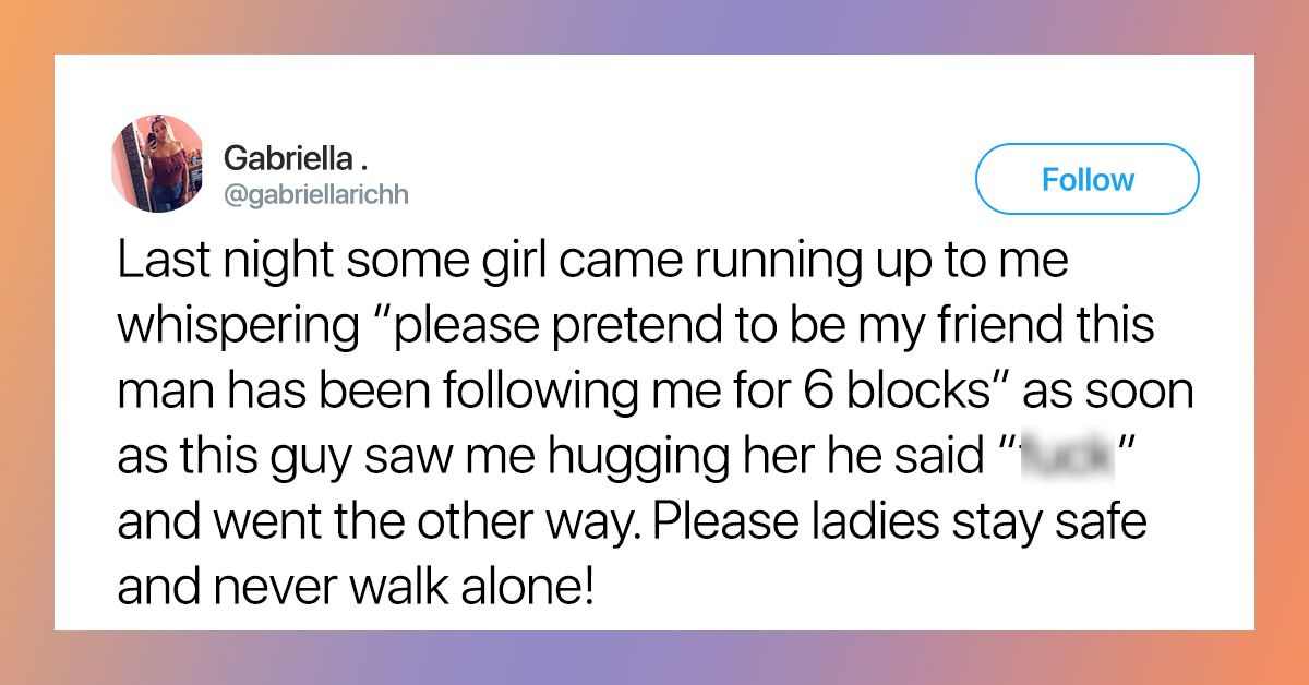 Women Are Sharing Their Traumatic Stalker Stories On Twitter And They're Horrifying