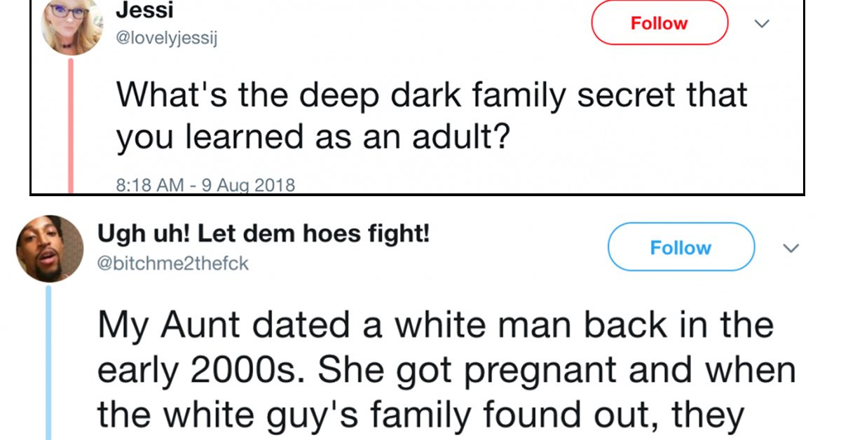 These 'Deepest, Darkest Family Secrets' From Twitter Deserve Their Own Netflix Series