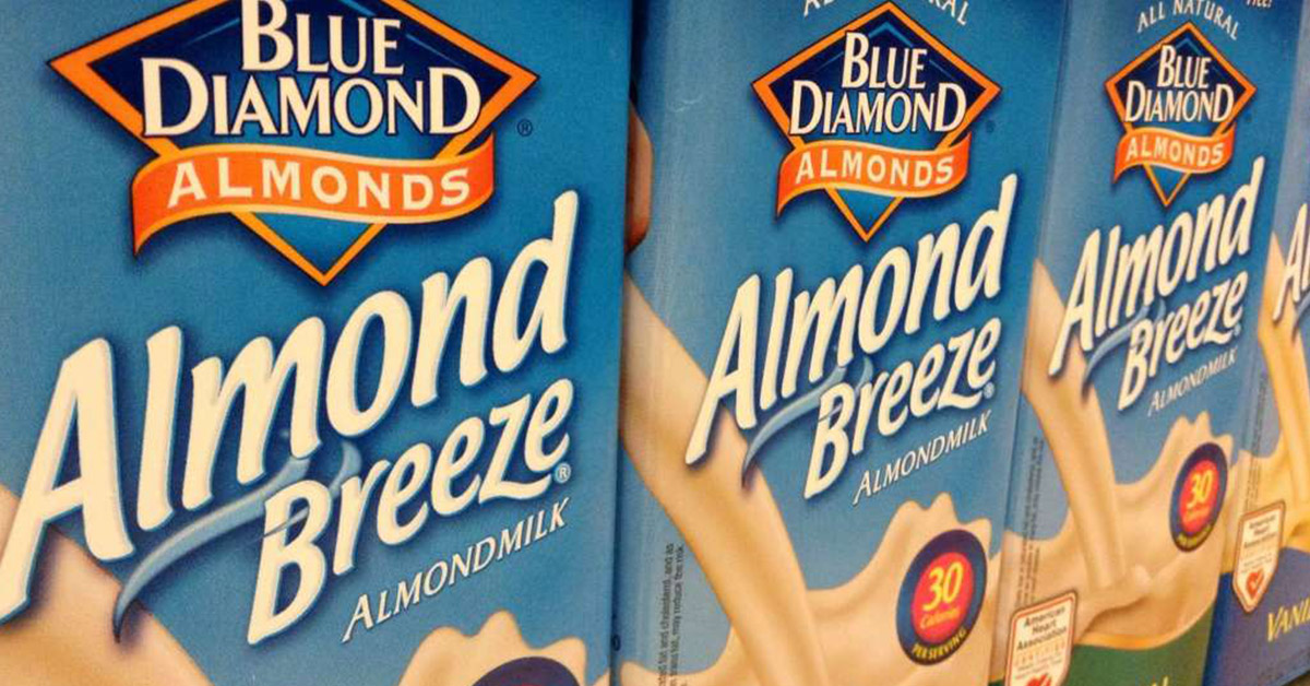 Heads Up: Almond Breeze Is Being Recalled For Possibly Containing Actual Milk