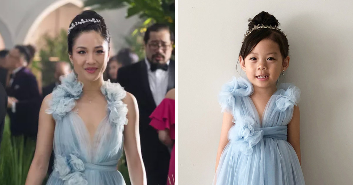 People Are In Love With This 5-Year-Old's Handmade 'Crazy Rich Asians' Dress