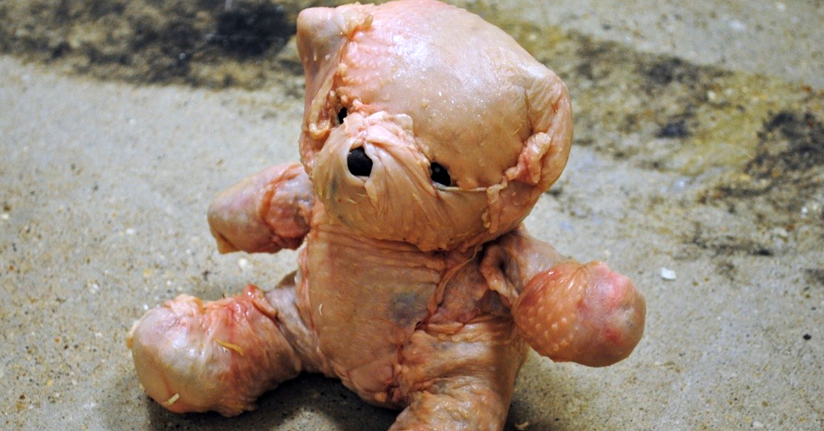 This Chicken Teddy Bear Will Make You Want To Throw Your Phone Directly Into A Bucket Of Holy Water