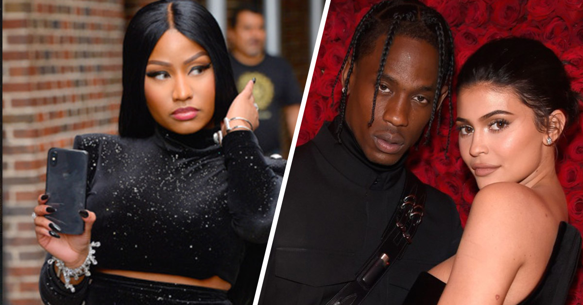 Travis Scott And Kylie Jenner Change Seats At The VMAs After Nicki Minaj's Tasteless Twitter Attack