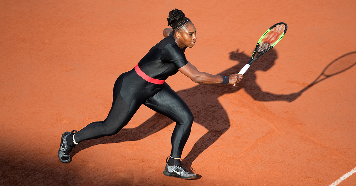 Serena Williams Is Banned From Wearing Her 'Black Panther' Suit At The French Open