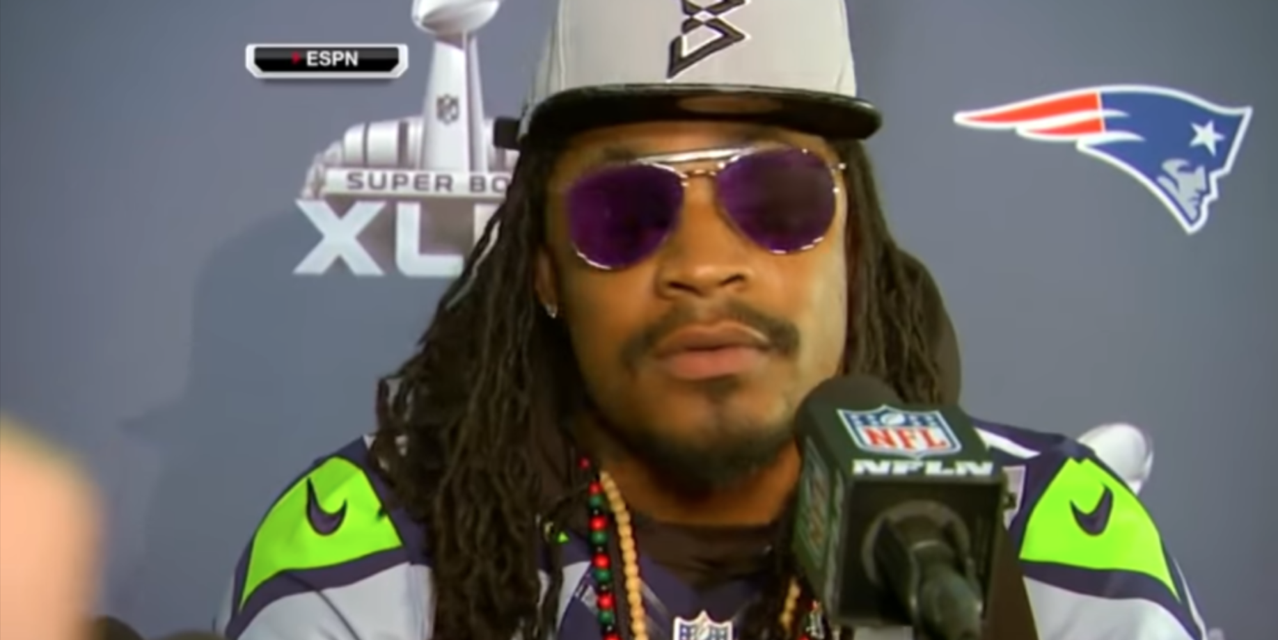 Marshawn Lynch's Embarrassing High School Photo Is Getting Roasted On Twitter