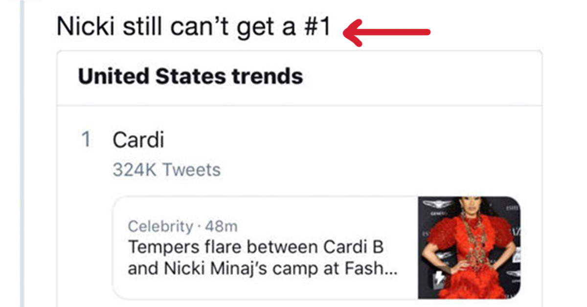 Just 19 Hysterical Tweets About Cardi B Brawling With Nicki Minaj At A Fashion Party