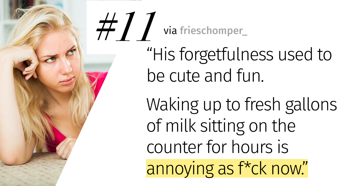 29 Married People Share What They Used To Find Cute About Their SO—But Now Find Infuriating